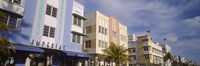 Art Deco Hotel, Ocean Drive, Miami Beach, Florida Fine-Art Print
