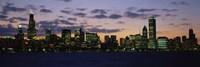 Chicago Skyline at Dusk Fine-Art Print