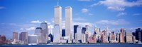 USA, New York City, with World Trade Center Fine-Art Print