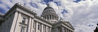 USA, California, Sacramento, Low angle view of State Capitol Building Fine-Art Print