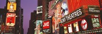 Billboards On Buildings, Times Square, NYC, New York City, New York State, USA Fine-Art Print