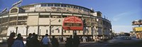 Wrigley Field during the day, USA, Illinois, Chicago Fine-Art Print