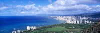 Blue Waters of Waikiki, Hawaii Fine-Art Print
