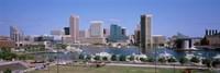 Inner Harbor Skyline Baltimore MD USA Fine-Art Print