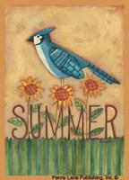 Summer Blue Jay Fine-Art Print