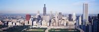 Chicago Skyline from a Distance Fine-Art Print