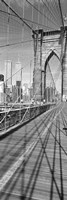 Brooklyn Bridge Manhattan New York City NY USA Fine-Art Print