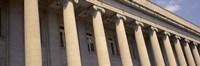 Shelby County Courthouse columns Memphis TN USA Fine-Art Print
