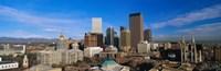 Skyline View of Denver Colorado in the Day Fine-Art Print