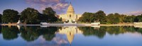 US Capitol Reflecting, Washington DC Fine-Art Print