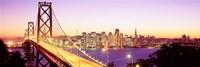San Francisco Skyline with Golden Gate Bridge Fine-Art Print