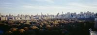 View Over Central Park, Manhattan, NYC, New York City, New York State, USA Fine-Art Print