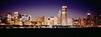 Chicago Lights at Night Fine-Art Print