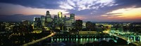 Minneapolis At Dusk, Minnesota Fine-Art Print