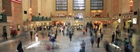 Passengers At A Railroad Station, Grand Central Station, Manhattan, NYC, New York City, New York State, USA Fine-Art Print