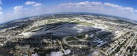 Aerial view of an airport, Midway Airport, Chicago, Illinois, USA Fine-Art Print
