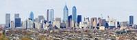 Philadelphia skyline, Pennsylvania, USA Fine-Art Print