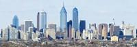 Skyscrapers in Philadelphia, Pennsylvania, USA Fine-Art Print