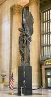 War memorial at a railroad station, 30th Street Station, Philadelphia, Pennsylvania, USA Fine-Art Print