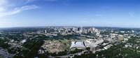 Aerial view of a city, Austin, Travis County, Texas Fine-Art Print