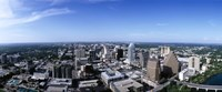 High angle view of a city, Austin, Texas, USA Fine-Art Print