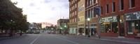 Street View of Kansas City, Missouri Fine-Art Print
