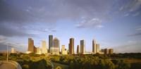 Houston Skyscrapers, Texas Fine-Art Print