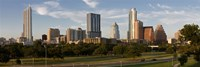 Buildings in a city, Austin, Texas Fine-Art Print