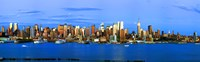Manhattan skyline, New York City, New York State, USA Fine-Art Print