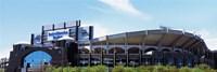 Football stadium in a city, Bank of America Stadium, Charlotte, Mecklenburg County, North Carolina, USA Fine-Art Print