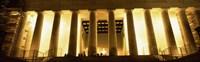 Columns surrounding a memorial, Lincoln Memorial, Washington DC, USA Fine-Art Print