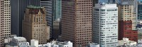 Skyscrapers in the financial district, San Francisco, California, USA Fine-Art Print