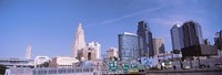 Low angle view of downtown Kansas City Fine-Art Print
