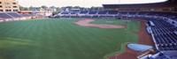 Baseball stadium in a city, Durham Bulls Athletic Park, Durham, Durham County, North Carolina, USA Fine-Art Print