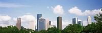 Houston Skyline with Clouds, Texas, USA Fine-Art Print