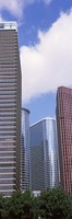 Low angle view of a building, Houston, Texas, USA Fine-Art Print