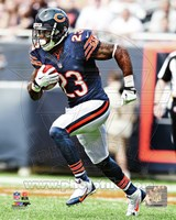 Devin Hester Carrying Football Fine-Art Print