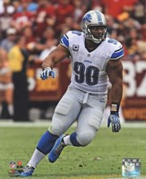 Ndamukong Suh 2013 in action Fine-Art Print