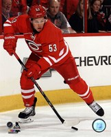 Jeff Skinner On Hockey Ice Fine-Art Print