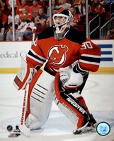 Martin Brodeur On Hockey Ice Fine-Art Print