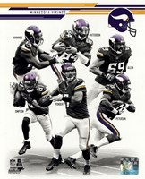 Minnesota Vikings 2013 Team Composite Fine-Art Print