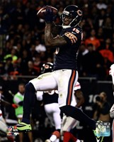 Brandon Marshall with the ball 2013 Fine-Art Print