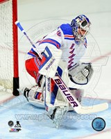 Henrik Lundqvist 2013-14 in Action Fine-Art Print