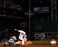 Shane Victorino Grand Slam 6 of American League Championship Series Fine-Art Print