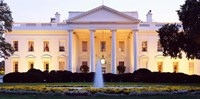 USA, Washington DC, White House, twilight Fine-Art Print
