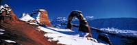 USA, Utah, Delicate Arch, winter Fine-Art Print