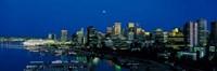 Evening skyline Vancouver British Columbia Canada Fine-Art Print