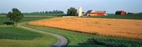Farm nr Mountville Lancaster Co PA USA Fine-Art Print