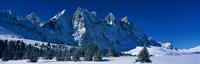 The Ramparts Tonquin Valley Jasper National Park Alberta Canada Fine-Art Print