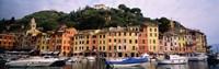 Harbor Houses Portofino Italy Fine-Art Print